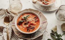 soupe thai crevettes