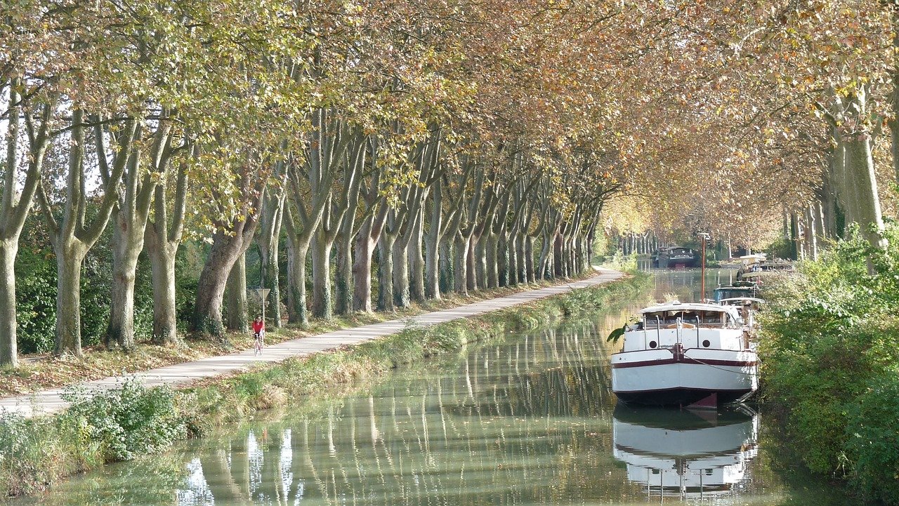 canal du midi bateau